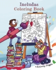 Includas Coloring Book: With Disability Inclusive Activity Pages Cover Image