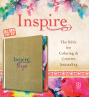Inspire Prayer Bible NLT (Hardcover Leatherlike, Metallic Gold): The Bible for Coloring & Creative Journaling Cover Image
