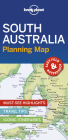 Lonely Planet South Australia Planning Map (Planning Maps) Cover Image