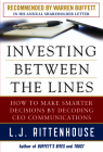 Investing Between the Lines: How to Make Smarter Decisions by Decoding CEO Communications Cover Image
