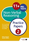 11+ Non-Verbal Reasoning Practice Papers 2 Cover Image