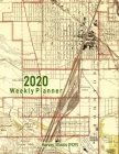 2020 Weekly Planner: Harvey, Illinois (1929): Vintage Topo Map Cover Cover Image