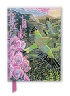 Annie Soudain: Foxgloves and Finches (Foiled Journal) (Flame Tree Notebooks) Cover Image