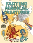Farting Magical Creatures: A Coloring Book Cover Image