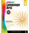 Spectrum Language Arts, Grade 4 Cover Image