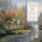 Thomas Kinkade Lightposts for Living 2021 Wall Calendar Cover Image