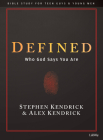 Defined - Teen Guys' Bible Study Book: Who God Says You Are Cover Image
