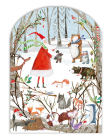 Real & Exciting Woodland Christmas Advent Calendar Cover Image