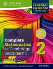 Complete Mathematics for Cambridge Secondary 1 Student Book 2: For Cambridge Checkpoint and Beyond Cover Image