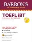 TOEFL iBT: with 8 Online Practice Tests (Barron's Test Prep) Cover Image