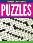 Number Crossword Puzzles Cover Image