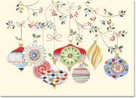 Mini Box: Watercolor Ornaments Cover Image