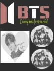 BTS Coloring Book Dots Lines Spirals: Bangtan Boys Coloring Books for KPOP & Army Fans Cover Image