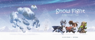 Snow Fight: A Warcraft Tale Cover Image