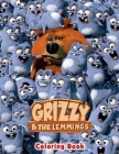 Grizzy & The Lemmings Coloring Book Cover Image