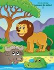 Livre de coloriage Animaux du safari 2 Cover Image