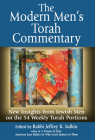 The Modern Men's Torah Commentary: New Insights from Jewish Men on the 54 Weekly Torah Portions Cover Image