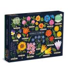Edible Flowers 1000 Piece Puzzle Cover Image
