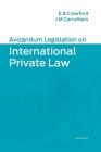 Avizandum Legislation on International Private Law Cover Image