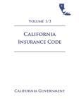 California Insurance Code [INS] 2021 Volume 1/3 Cover Image