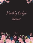 Monthly Budget Planner: Monthly & Weekly Expense Tracker, Savings and Organizer Journal Notebook, One Year Financial Planner, Budgeting Planne Cover Image
