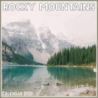 Rocky Mountains Calendar 2021: Official Rocky Mountains Calendar 2021, 12 Months Cover Image