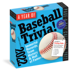 A Year of Baseball Trivia! Page-A-Day Calendar 2022 Cover Image
