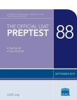 The Official LSAT Preptest 88: (september 2019 Lsat) Cover Image