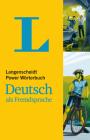 Langenscheidt Power Woerterbuch Deutsch ALS Fremdsprache - Monolingual German Dictionary (German Edition) Cover Image