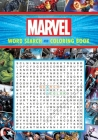 Marvel Word Search and Coloring Book (Coloring Book & Word Search) Cover Image