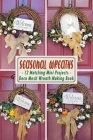 Seasonal Wreaths: 12 Matching Mini Projects - Deco Mesh Wreath Making Book Cover Image