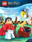 LEGO(R) Harry Potter(TM): Let's Play Quidditch! (Activity Book with Minifigure) Cover Image