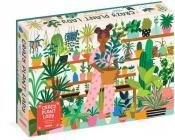 Crazy Plant Lady 1,000-Piece Puzzle (Workman Puzzles) Cover Image