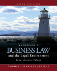 Anderson's Business Law and the Legal Environment, Comprehensive Volume Cover Image