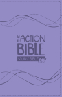 The Action Bible Study Bible ESV (Lavender) Cover Image