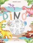Dinosaurier Malbuch: Mein tolles Dino Buch zum Ausmalen mit spannenden Fakten und Hintergrundwissen. Dino-Motive für Jungen und Mädchen ab Cover Image