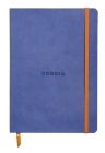 Rhodiarama Lined 6 X 8 1/4 Sapphire Blue Softcover Journal Cover Image