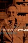 Jean-François Lyotard (Critical Lives) Cover Image