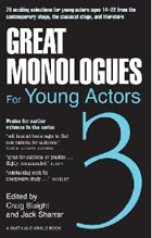 Great Monologues for Young Actors Volume III Cover Image