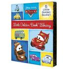 Cars Little Golden Book Library: Cars/Cars 2/Mater and the Ghost Light/Look Out for Mater!/Tractor Trouble Cover Image