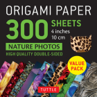 Origami Paper 300 Sheets Nature Photo Patterns 4