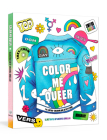 Color Me Queer: The LGBTQ+ Coloring and Activity Book Cover Image