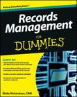 Records Management for Dummies Cover Image