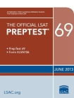 The Official LSAT Preptest 69: June 2013 LSAT Cover Image