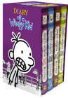 Diary of a Wimpy Kid Box of Books 5-8 Cover Image