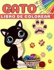 Gato Libro de Colorear Para Niños: - Libro para colorear para niños pequeños, niños y niñas / Libro para niños, preescolar y infantil / Divertido y fá Cover Image