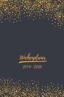 Wochenplaner 2019 - 2020: Terminplaner, Terminkalender für 2019 - 2020, 14 Monate November - Dezember, Timer, Kalender, Jahresplaner, Taschenkal Cover Image