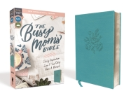 Niv, Busy Mom's Bible, Leathersoft, Teal, Red Letter Edition, Comfort Print: Daily Inspiration Even If You Only Have One Minute Cover Image