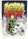 Graffiti Coloring Book Cover Image