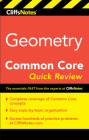 CliffsNotes Geometry Common Core Quick Review Cover Image